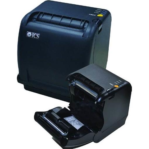 ΕΚΤΥΠΩΤΗΣ ΘΕΡΜΙΚΟΣ ICS SLK-TS400 USB+ETHERNET BLACK