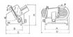 Ζαμπονομηχανή AF 300 INGR (με γρανάζι)