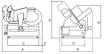 Ζαμπονομηχανή LINOSA TGI 350 με γρανάζι