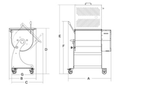 Αναδευτήρας Κρέατος IP 80 XP BA SIRMAN