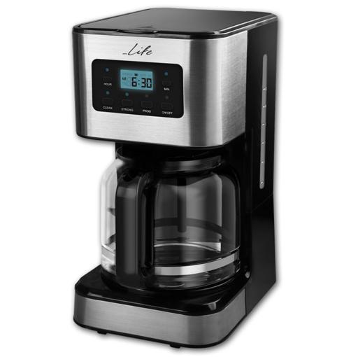 Ηλεκτρική Καφετιέρα Φίλτρου LIFE CM-200