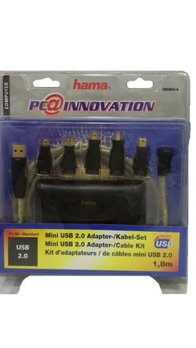 ΗΑΜΑ ΣΕΤ ΜΙΝΙ USB ADAPTORS & ΘΗΚΗ 1.80m