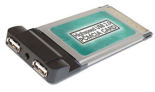 DIGITUS DC USB2-PCMCIA CARD 2XUSB 2.0