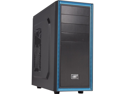 DEEPCOOL TESSERACT BF ATX Mid Tower SGCC, Plastic, Rubber Coating Computer Case