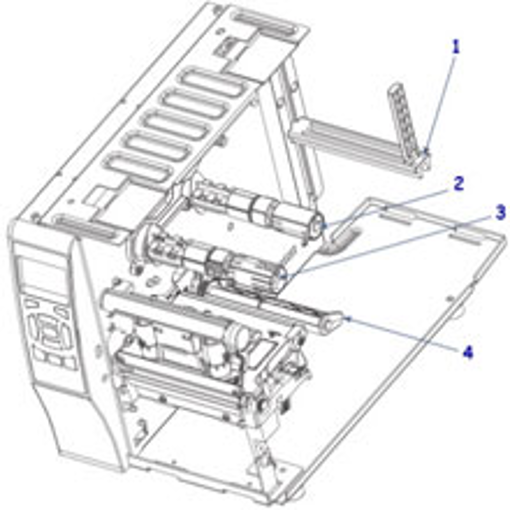 Ribbon System Kit For Zebra ZT230