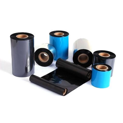 Μελανοταινίες (Ribbons) Μαύρες Για Χάρτινες Ετικέτες 84mmX74m WAX