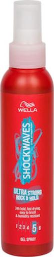 WELLA SHOCKWAVES 150ml GEL SPRAY - (ULTRA STRONG)