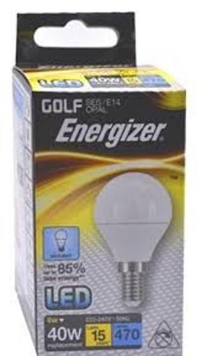 ENERGIZER ΛΑΜΠΑ GOLF (LED) Ε14 6w (ΘΕΡΜΟ)