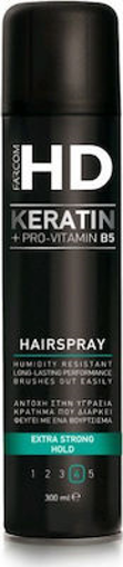 FARCOM HD HAIRSPRAY No4 300ml - (EXTRA STRONG HOLD)