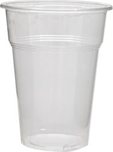 ΠΟΤΗΡΙ ΦΡΑΠΕ ΔΙΑΦΑΝΕΣ 330ml  (50τεμ.) - (Νο 508) - (LUX-PLAST)