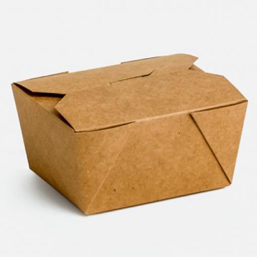 KRAFT DELIVERY BOX No 1 - (50τεμ.) - (13x10,5x6.5cm)
