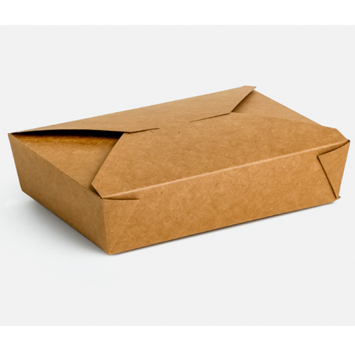 KRAFT DELIVERY BOX No 2 - (50τεμ.) - (21x15x4,8cm)