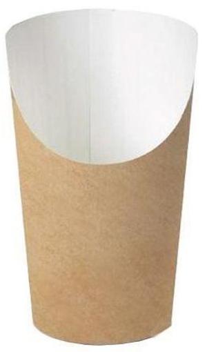 ΧΑΡΤΙΝΟ ΠΟΤΗΡΙ ΠΑΤΑΤΑΣ 100τεμ. - (74,4x114x53,8mm) - (608-81)