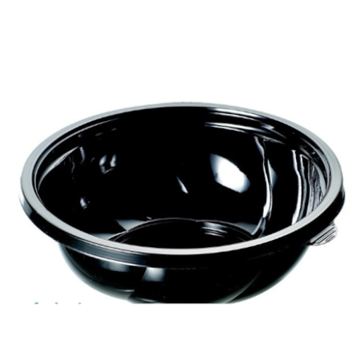 ΜΠΩΛ ΣΑΛΑΤΑΣ ΜΑΥΡΟ 650 ml - (50τεμ.) (SB-650) - (PREPAC)