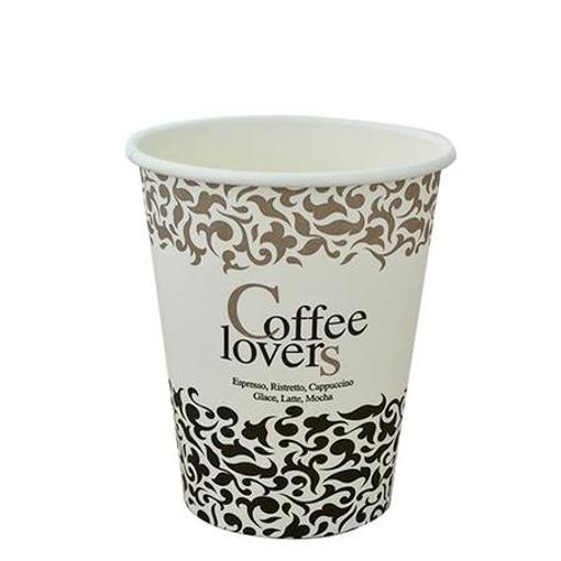 ΠΟΤΗΡΙ ΧΑΡΤΙΝΟ COFFEE LOVERS 8οz - (50τεμ.)