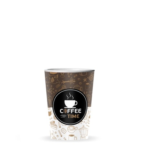 ΠΟΤΗΡΙ ΧΑΡΤΙΝΟ COFFEE TIME (4οz) - (50τεμ.)