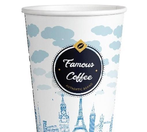 ΠΟΤΗΡΙ ΧΑΡΤΙΝΟ FAMOUS COFFEE (4οz) - (100τεμ.)