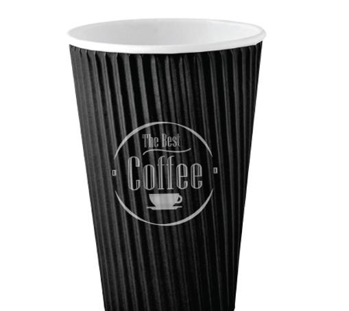 ΠΟΤΗΡΙ ΧΑΡΤΙΝΟ RIPPLE BEST COFFEE (16οz) - (25τεμ.)