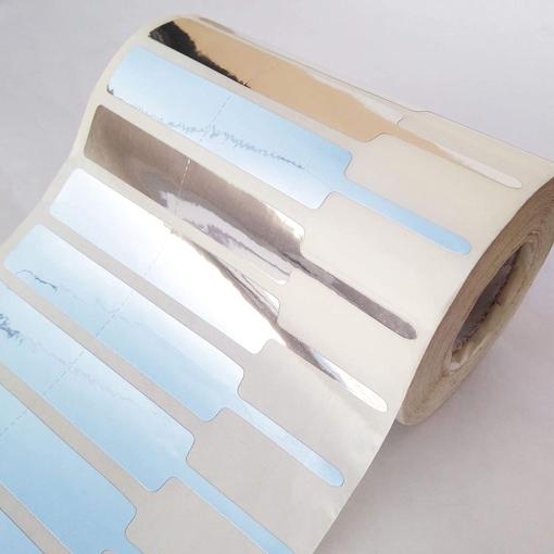 Ετικέτες Κοσμημάτων-Οπτικών 77mm(Π) X 10mm(Υ) - Ασημένιες