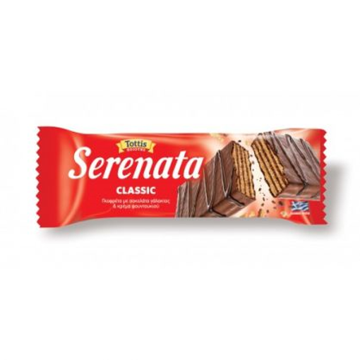 SERENATA CHOCO&COCOA ΓΚΟΦΡΕΤΑ ΣΟΚ. ΓΑΛ 33 ΓΡ. 0.30€