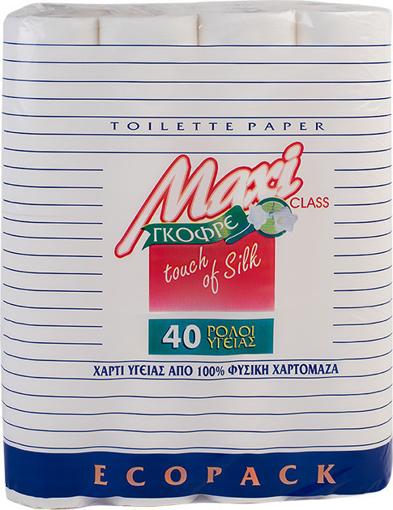 MAXI ΧΑΡΤΙ ΥΓΕΙΑΣ 40 ΡΟΛΑ - 2φυλλο  85gr.